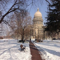 Photo taken at Idaho State Capitol by Jim L. on 1/22/2013
