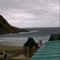 Photo taken at Backpacker Beach Hostel, Victoria Bay by Dave S. on 11/15/2013