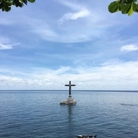 Photo taken at Sunken Cemetery Cross by Clares U. on 5/15/2017