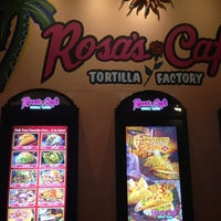 Photo taken at Rosa's Cafe & Tortilla Factory by Nathan K. on 2/20/2013