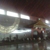Photo taken at Masjid Agung Baiturrahman Simpang 5,Semarang by Arif B. on 11/29/2013
