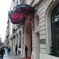 Photo prise au Le Royal Monceau par Alain C. le11/13/2012