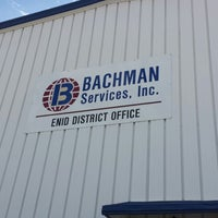 Photo taken at Bachman Services Enid by Cynthia N. on 5/8/2013