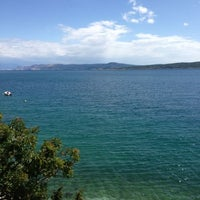 Photo taken at Crikvenica by Olga N. on 6/15/2013