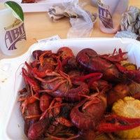 Photo taken at Babin's Seafood House by John M. on 5/1/2013