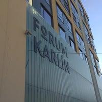 Photo taken at Forum Karlín by Martin B. on 4/20/2018