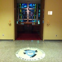 Photo taken at Aquinas Hall by Joe C. on 11/27/2012