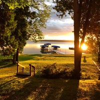 Photo taken at Mullet Lake by Christopher A. on 9/8/2015