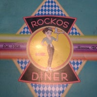Photo taken at Rockos Diner by Anyssa C. on 4/14/2013