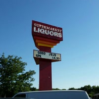 Photo taken at Super Market Liquors by Christopher T. on 9/12/2015