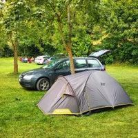 Photo taken at Campingplatz Tauberromantik by Andrea C. on 8/22/2014