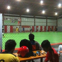 Photo taken at DNA Futsal by Mohamad Falca J. on 10/1/2012