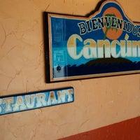 Foto diambil di Cancun's Restaurant oleh Cynthia B. pada 4/17/2014
