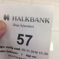 Photo taken at Halk Bankası Başakşehir Şubesi by Paşa Ş. on 11/2/2016