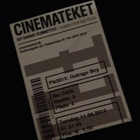 Photo taken at Cinemateket by Tine Rugaard M. on 4/11/2013