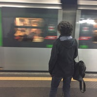 Photo taken at Metro Sant'Agostino (M2) by Vincenzo D. on 5/19/2016