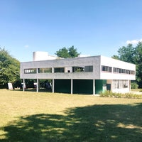 Photo taken at Villa Savoye by bosch on 8/22/2017