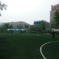 Photo taken at 오금풋살구장 by Hyungcheol S. on 7/5/2014