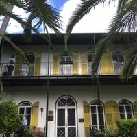 Photo taken at Ernest Hemingway Home & Museum by Gulnaz N. on 2/20/2016
