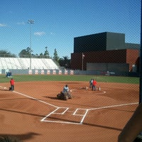 Photo taken at Rita Hillenbrand Memorial Stadium by Carlos R. on 10/12/2012