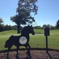 Photo taken at Blackhorse Golf Club by Brandi H. on 10/8/2013