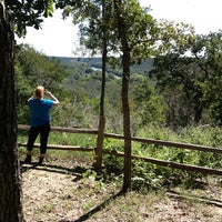 Photo taken at Scenic View @ McKinney Roughs State Park by Roy I. on 10/20/2013