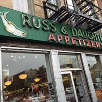 Photo taken at Russ & Daughters by Shadi on 4/28/2013