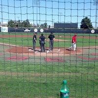 Photo taken at Earl E. Wilson Baseball Stadium by Jeni R. on 3/8/2015