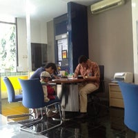 Photo taken at Bank Mandiri by Desfika U. on 2/8/2013