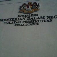 Photo taken at Kompleks Kementerian Dalam Negeri (KDN) by Allan M. on 1/15/2013