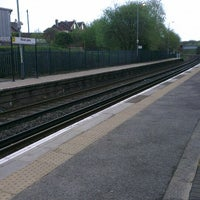 Photo taken at Rice Lane Railway Station (RIL) by Lonnie F. on 5/10/2013