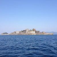 Photo taken at Hashima (Gunkanjima) Island by Takahito Y. on 5/5/2013