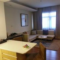 Photo taken at Grand Sukhumvit Hotel Bangkok by Kawakichi on 4/18/2013