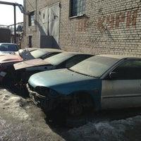 Photo taken at DSM Garage by Andrew on 3/29/2013