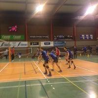 Photo taken at Centre Sportif de Walhain by Luc G. on 1/25/2014