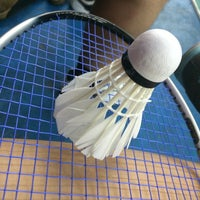 Photo taken at T Angle Sport Badminton Court by Vanessa L. on 11/13/2014