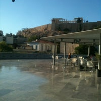 Photo taken at Cafe & Restaurant at Acropolis Museum by Ruzanna S. on 8/3/2013