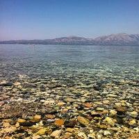 Photo taken at Vlastos beach by Stelios K. on 5/4/2013