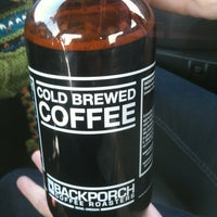 Photo taken at Backporch Coffee Roasters by Zeke S. on 3/30/2013