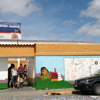 Photo taken at Escola Municipal Profa. Célia Pinheiro Franco by Nelson Takashi Y. on 10/5/2014