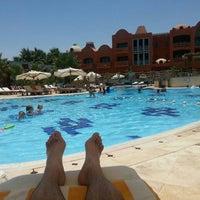 Photo taken at Pool at Sheraton Miramar Resort El Gouna by Kurt V. on 7/28/2015