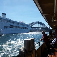 Photo taken at Circular Quay Ferry Terminal by David C. on 4/28/2013