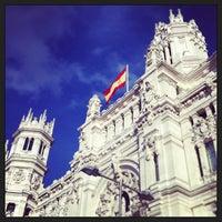 Foto tirada no(a) Palacio de Cibeles por Felipe L. em 3/18/2013