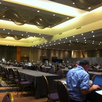 Photo taken at Westin Convention Centre by Gid 'Sir Gid' B. on 11/17/2012