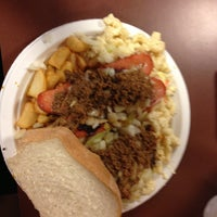 Photo taken at Nick Tahou Hots by Josh L. on 4/29/2013