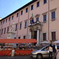Photo taken at Biblioteca Accademia by Simone U. on 10/6/2012