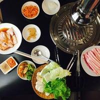 Photo taken at 54 Korean B.B.Q. by Pawiya K. on 12/10/2015