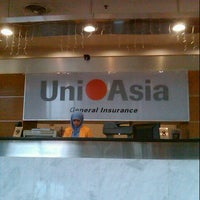 Photo taken at Uni.Asia General Insurance Berhad by are p. on 10/25/2012