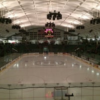 Photo taken at Thompson Arena at Dartmouth by Sonia L. on 2/21/2014