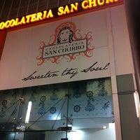 Photo taken at Chocolateria San Churro by Ushita S. on 3/2/2013